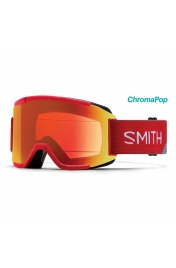 SmithOptics Squad Fire Split ChromaPop Everyday Red Mirror